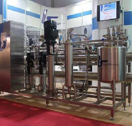 ULTRAFILTRATION PLANT FOR WHEY PROTEIN COCENTRATE